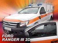 Ofuky oken Ford Ranger III 2D 2012r =>, 2ks přední