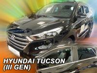 Ofuky oken Hyundai Tucson 5D 2015r =>,  4 ks přední+zadní