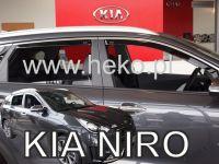 Ofuky oken Kia Niro 5D 2016R => 4 ks přední+zadní