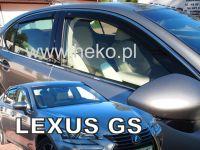 Ofuky oken Lexus GS 4D 2012R =>, 4 ks přední+zadní