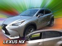 Ofuky oken Lexus NX 5D 2014R =>, 4 ks přední+zadní