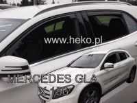 Ofuky oken Mercedes GLA X156 5D 2014R =>, 4ks přední+zadní