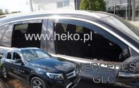 Ofuky oken Mercedes GLC X253 5D 2016R=>, 4ks přední+zadní