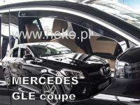 Ofuky oken Mercedes GLE C292 5D 2016r => coupe, 2ks přední
