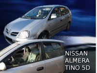 Ofuky oken Nissan Almera Tino 5D 2001r =>, 4ks přední+zadní