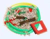 Sněhové řetězy X50 Rychloupínací křížová stopa 3,0 mm 9mm, Nylonová tašk Vyrobeno v EU