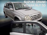 Ofuky oken Suzuki Grand Vitara 5D XL7 98-2005r, 4ks přední+zadní