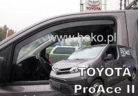 Ofuky oken Toyota ProAce 2016r =>, 2ks přední