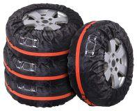 Návleky na pneumatiky o velikosti 13 - 16 palců (R13 - R16), ideální pro skladování pneumatik včetně disků Compass