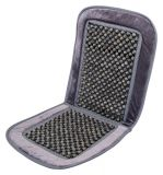 Potah sedadla kuličkový s lemem šedý 93x40cm