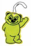 Přívěšek reflexní Medvěd žlutý