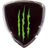 Samolepka kovová Monster Erb 7 x 6,5 cm