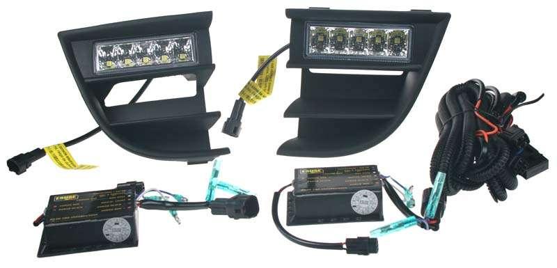 LED světla s originálními plasty - Octavia II. Facelift 12/2008 -