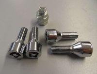 Bezpečnostní šroub kovový M12 x 1,5 x 29 mm, kužel