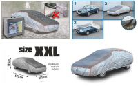 Autoplachta XXL 570×203×119cm Ochranná plachta proti kroupám