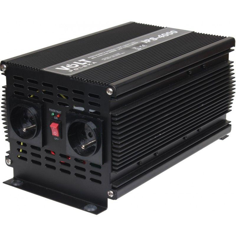 Měnič napětí 12V/ 230V IPS 4000 Volt