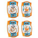 Chrániče kolen a loktů pro děti Star wars BB8 - 4ks