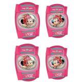 Chrániče kolen a loktů pro děti Minnie Mouse - 4ks