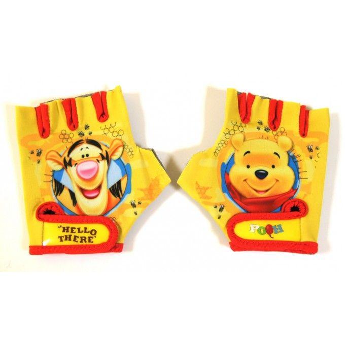 Dětské Cyklistické rukavice Medvídek Pú Winnie the Pooh e014fb62df
