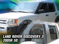 Ofuky oken Land Rover Discovery III 5D 2005r =>, 4ks přední+zadní