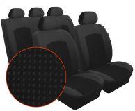 Autopotahy DACIA DOKKER, 5 míst, od r. 2012, Dynamic velur černý
