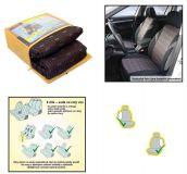 Autopotahy JACK I tmavé s obdélniky, s atestem na airbagsada 9ks