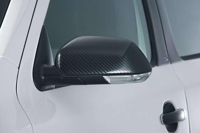 Kryty zrcátek Milotec - 3D Carbonstyl, nesymetrické, Škoda Fabia/Octavia