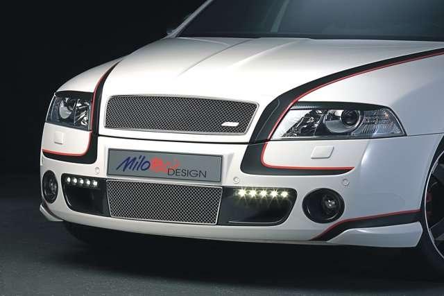 Rámečky mlhových světel - 3D Carbonstyl, Škoda Octavia II RS, Scout