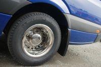 """Zadní kryty kol, poklice Mercedes Sprinter, VW Crafter 14"""", 4ks přední+zadní"""