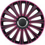 """Poklice růžové 16"""" LE MANS PRO Pink black 4ks"""