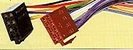 Kabel adaptér repro napájení ISO - zástrčka, RH-12