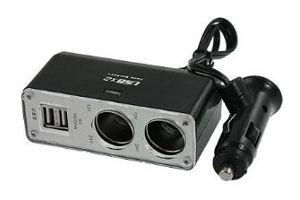 Rozdvojka 12/24V 2 x USB, 72-03