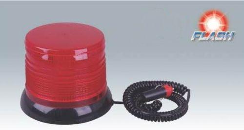 Maják 24V oranžový 100 LED 2 funkce, WL 249/224