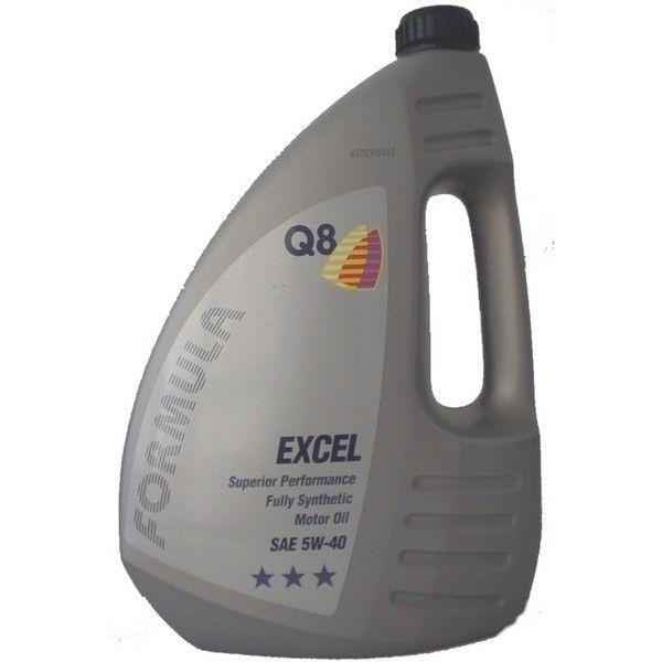 Olej - Q8 Excel 5 W 40 4L