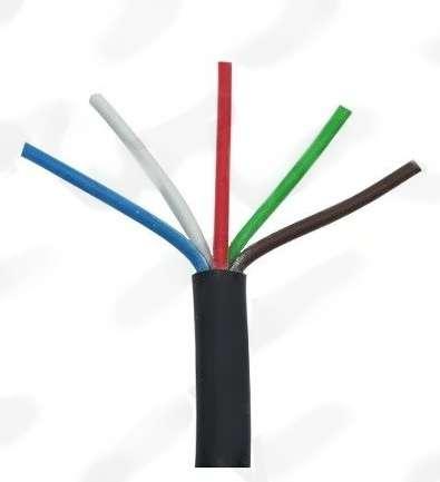 Kabel pro přívěsné vozíky pětipramenný elektroinstalační 5 x 1mm, balení 20 metrů