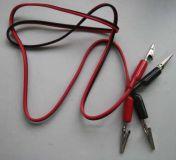 Propojovací kabely s krokosvorkou dvoulinka