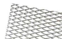 Hliníková mřížka (Tahokov) rozměr 1000x250 mm, AL 08 stříbrný VO