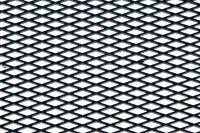 Hliníková mřížka (Tahokov) rozměr 1000x250 mm, AL 08 černý VO