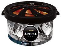 AROMA CAR ORGANIC 40g  BLACK  FAL038