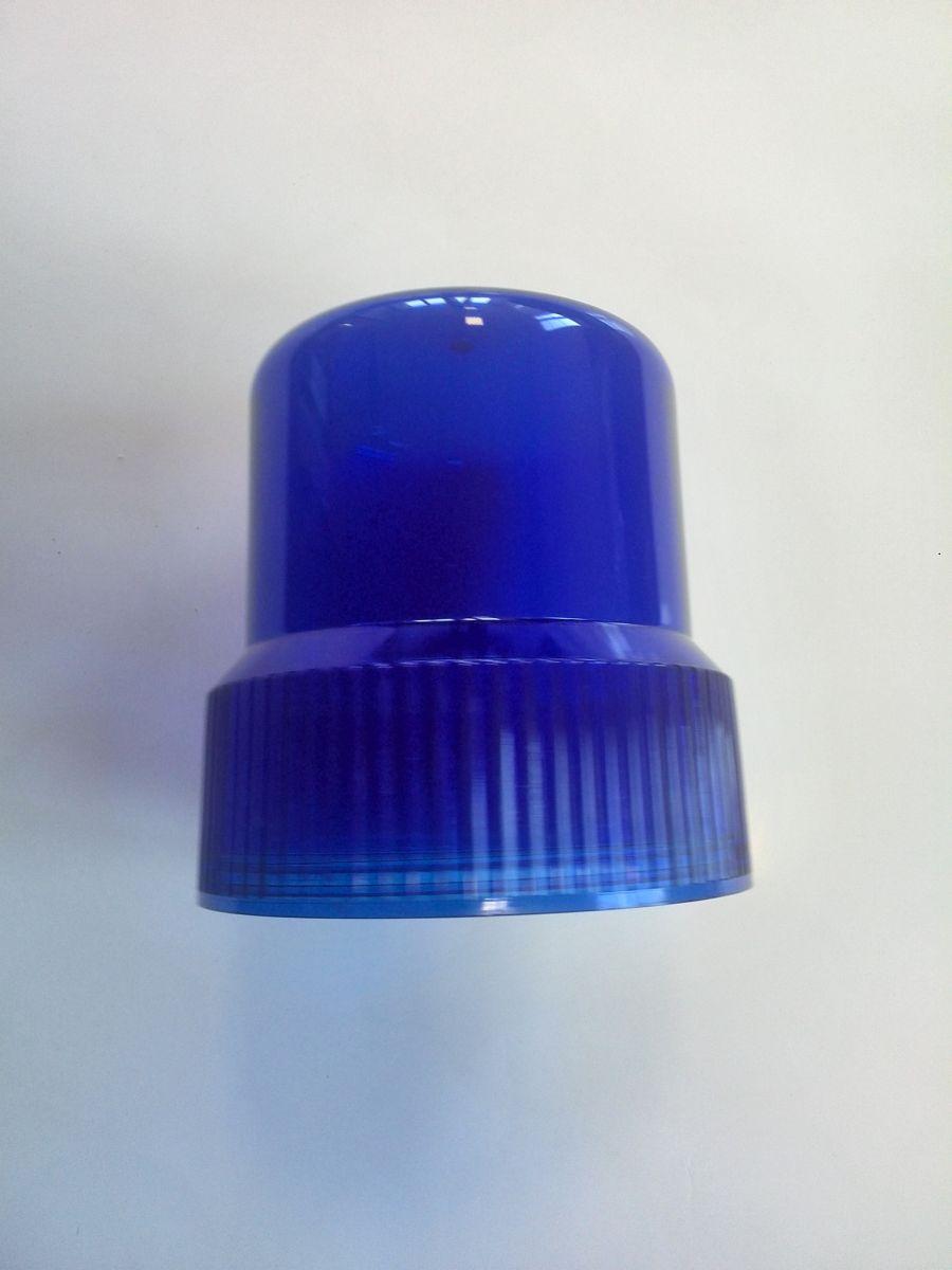 Kryt na maják modrý průměr 12 cm