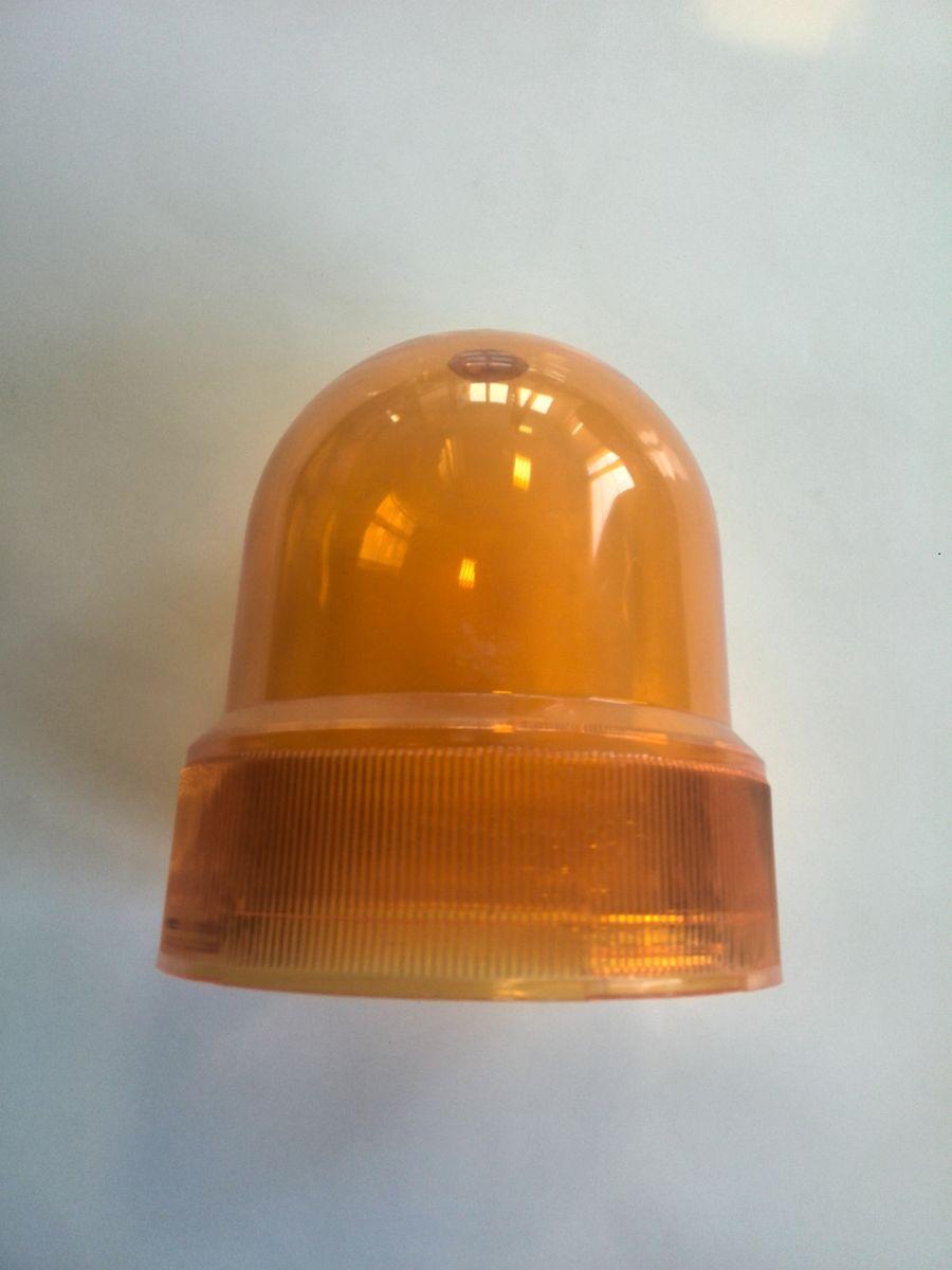 Kryt na maják oranžový průměr 12 cm