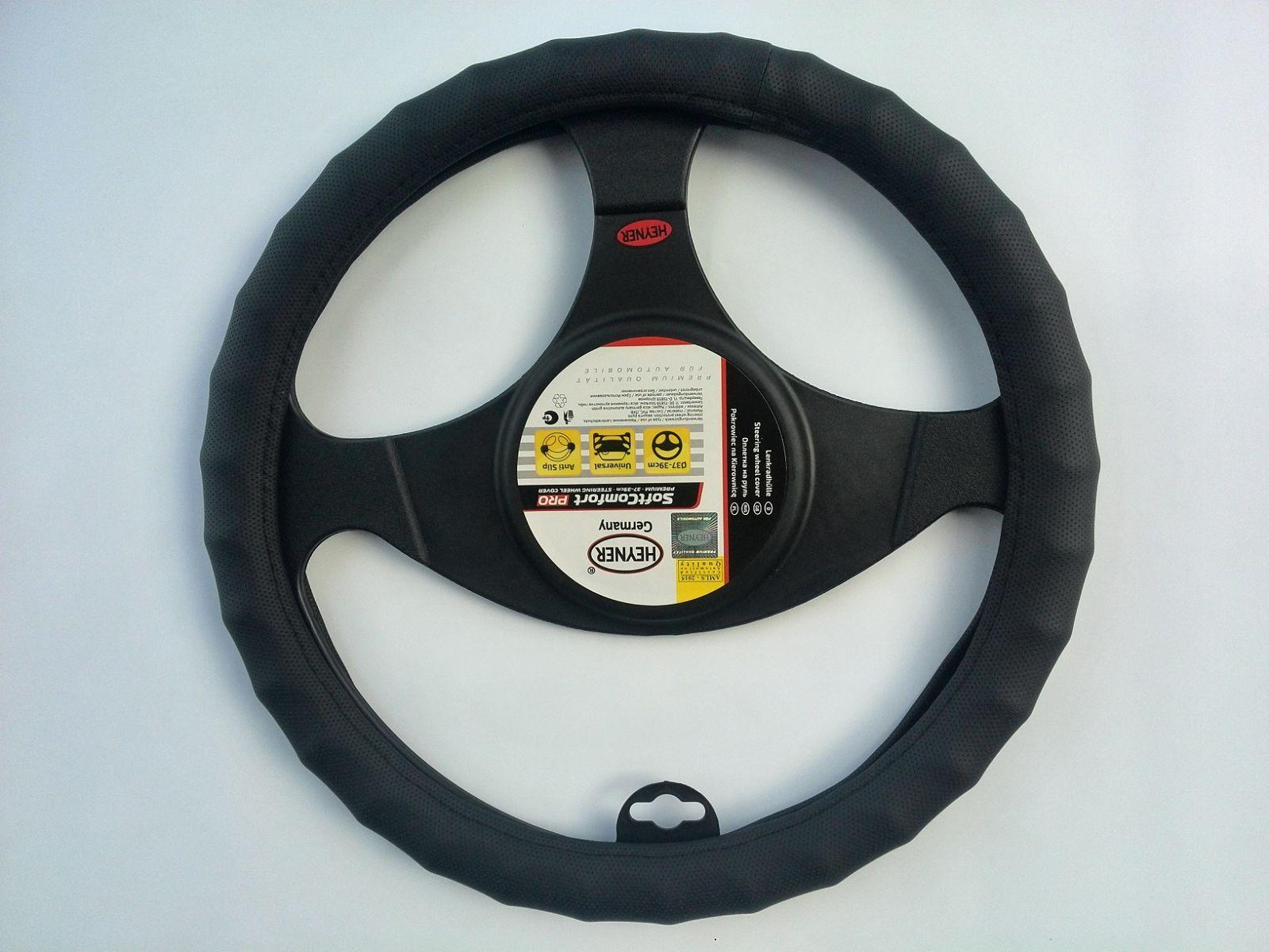 Potah na volant černý 37-39cm 600000