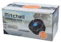Ventilátor MITCHELL 115mm 12V na přísavku, 07216