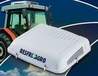 ResfriAgro klimatizátor 12V s integrovanou vodní nádrží Střední panel