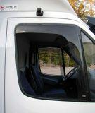 Ofuky oken MB Sprinter => 2006r, přední 2ks, 3mm průhledný akryl