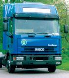 Sluneční clona Iveco Eurocargo => 04/2003, high roof nebo spoiler, akrylová část s montážní sestavou