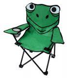Dětská kempingová skládací židle FROG malá 35 x 26 cm