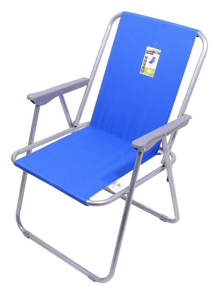 CATTARA Kempingová skládací židle modrá BERN