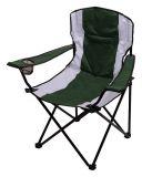 Kempingová skládací židle černá DUBLIN 110kg, 2,3kg