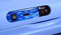 Přenosný chladící box 25litrů BLUE 220/12V LED ukazatel teploty Vyrobeno v EU